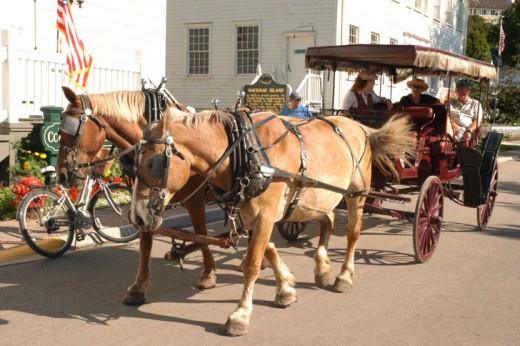 Mackinaw island carriage tours