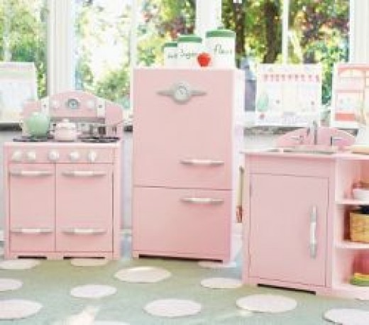 kidkraft kitchen pink gallery for wood play kitchen set - gallery