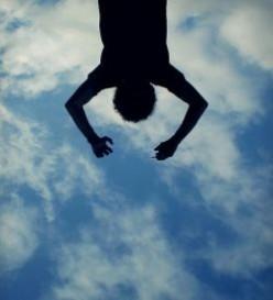 sanjati padanje
