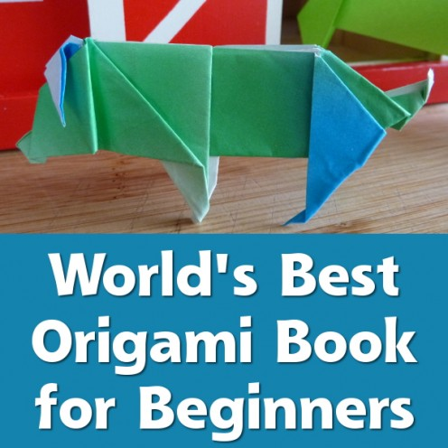 World's best origami book recommended for beginners.