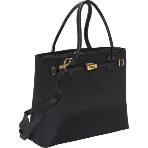 Women In Business Thoroughbred Laptop Tote (Black)