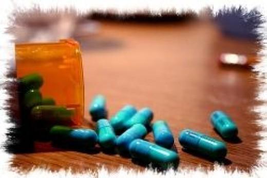 Medicine for Bipolar Disorder (random picture of pills)