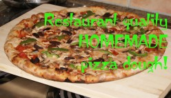 An Excellent Homemade Pizza Dough Recipe