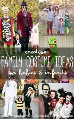 Creative Costume Ideas For Mom, Dad and Baby