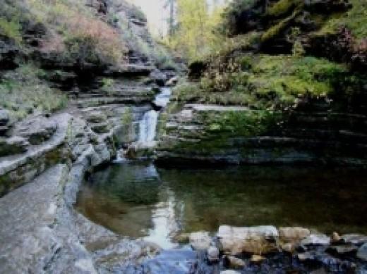 First Pool Devils Bathtub Hike