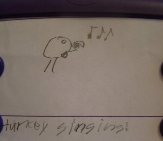 Sentence: Turkey Singing