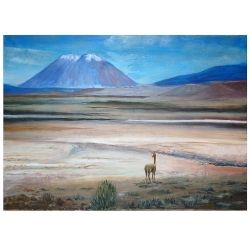 Oil Painting Peru