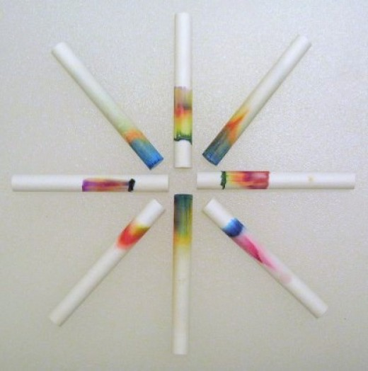 Chalk Chromatography