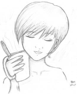 Just enjoying my coffee...