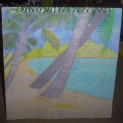 How To Make A Palm Tree Card