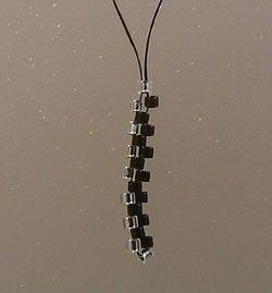 Russian Beaded Earrings #7