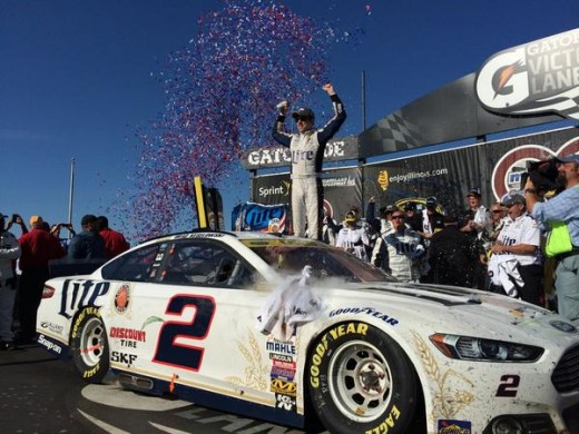 Brad Keselowski won the Chase opener and punched his ticket into the Round of 12