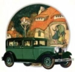 1920's Car Advertisements