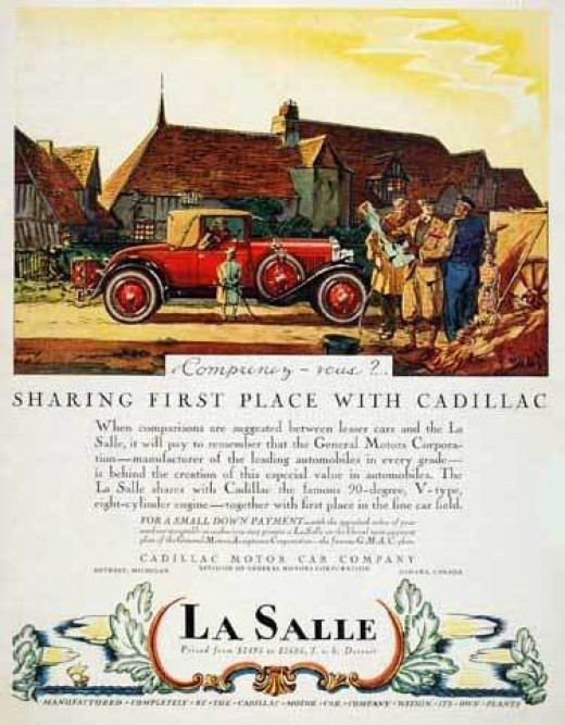 1927 Cadillac LaSalle Coupe in Rural Setting