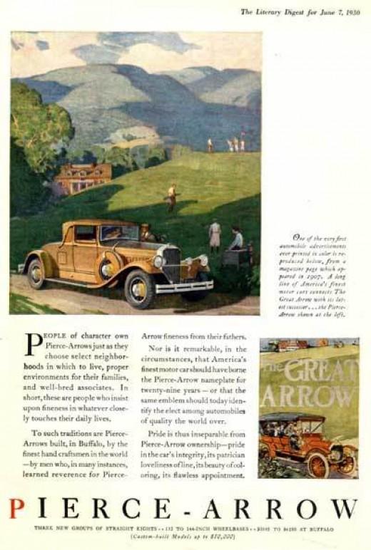 1930 Pierce Arrow Coupe