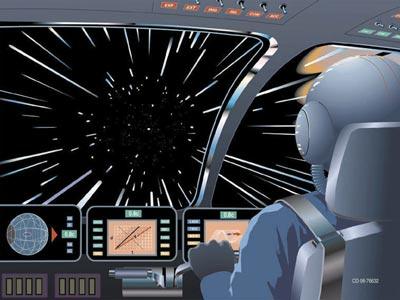 Warp speed is still science fiction