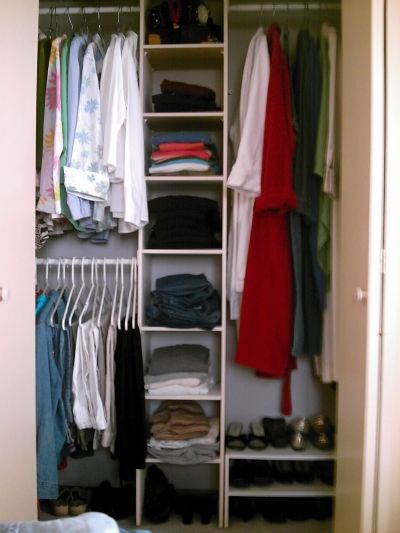 My Closet After Staging