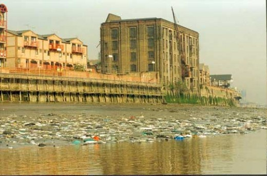 killer plastic bags choking rivers