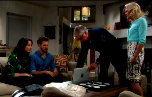 Charlie and Pam rushed the surveillance footage they sourced over to Liam.  It wasn't fate that interfered with Liam meeting Hope in Pars.  It was Quinn!