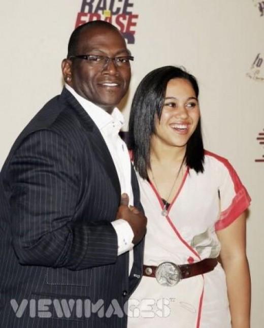 Randy Jackson and his daughter Taylor