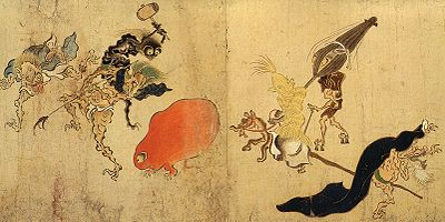 Can you spot the Tsukumogami?