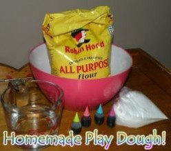 How To Make Homemade Play Dough