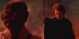 Anakin choking Padame