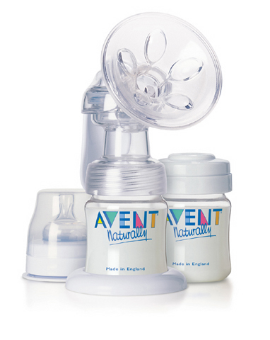 The Avent Isis is a popular model of manual breast pump.
