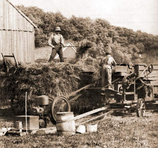 Farm workers 1912