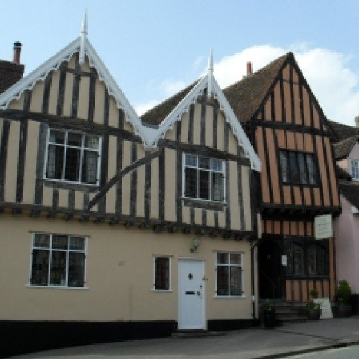 The Crooked House, Lavenham Suffolk, photograph copyright Michele Webber