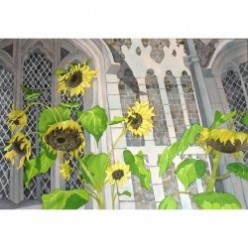 Step by Step Sunflowers Painting