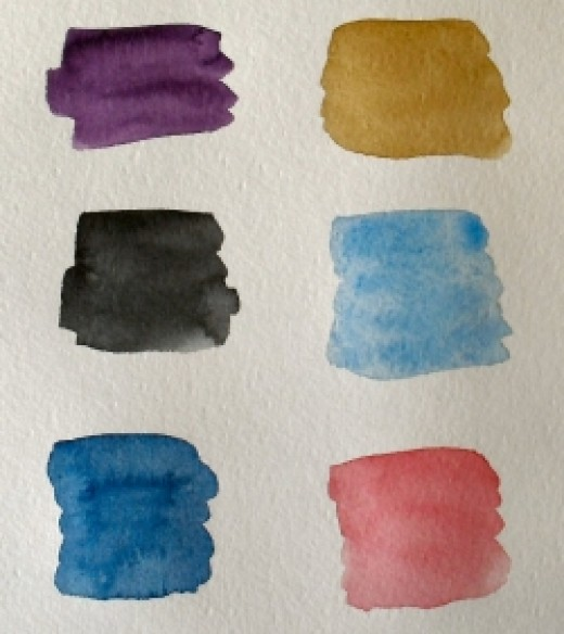 Staining & transparent watercolours