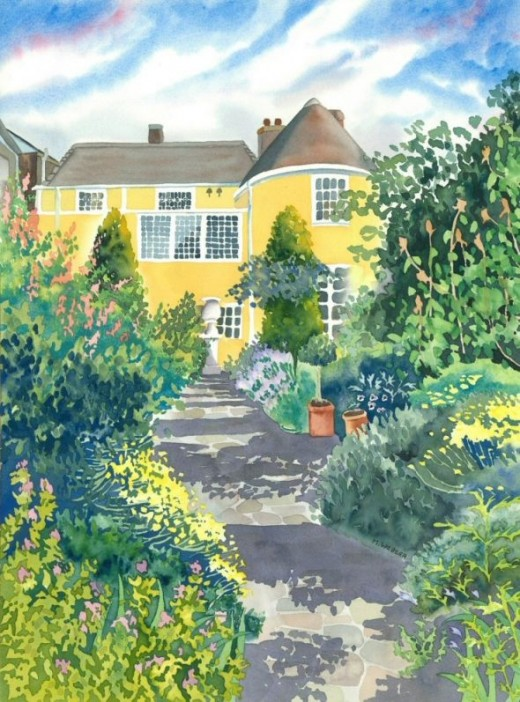 Gainsborough's House - Limited Edition Print