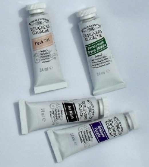 Have you tried Gouache?
