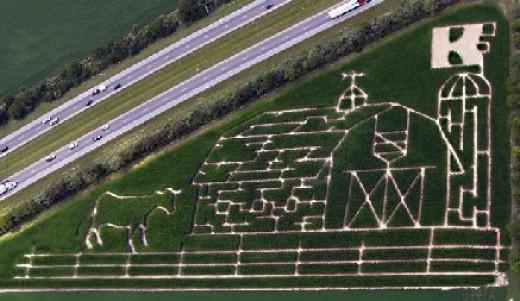 Kelsay Farms 2008 Corn Maze