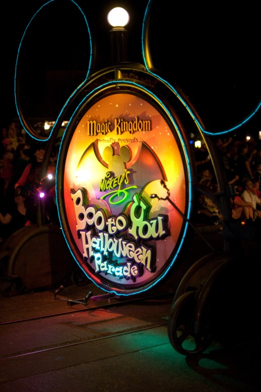 Halloween parade at Walt Disney World