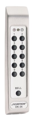 Securitron DK26SS Keypad.