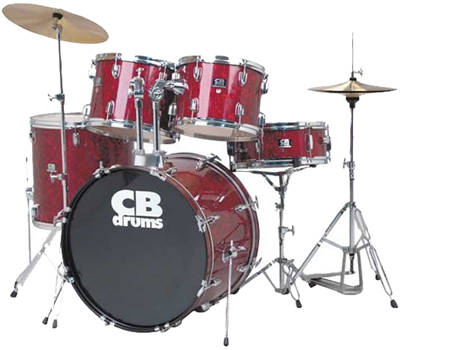 Arbiter CB kit £299 / $453 - The DADDY of the beginner drum kit world, this kit sounds great and is a steal at the price it will last a long time if looked after carefully.  The only draw back to this drum kit is the number of lugs on the snare (lugs