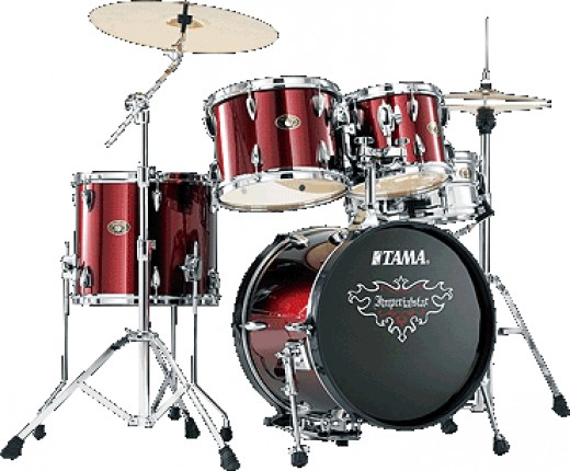 TAMA IMPERIALSTAR £419 / $635 - Tama is another big name but also comes in at a slightly higher price that might put off Billy's parents?  However you do get a high quality starter drum kit along with all the other essentials such as hardware and cym