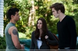 Jacob, Bella, and Edward