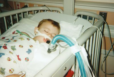 Vaccine injured child