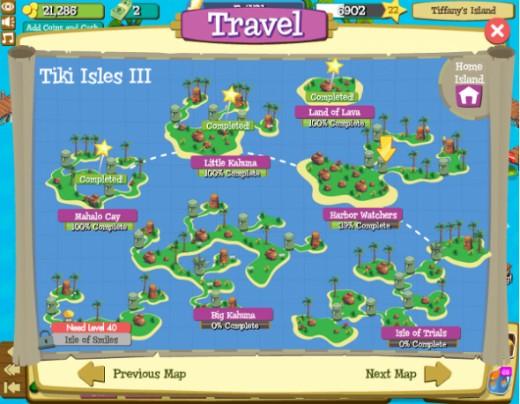 Treasure Isle Map
