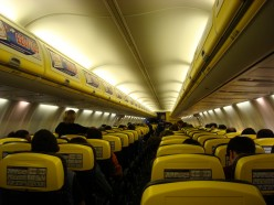 Use smaller planes. Less seat/leg space = cheaper prices