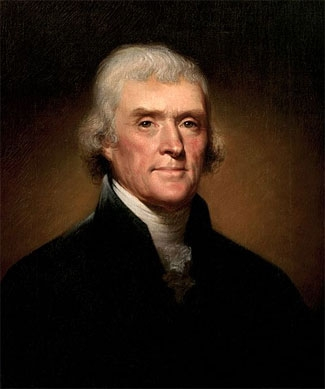 "#3 Thomas Jefferson: Didn't believe campaign slogans were ""proper"""
