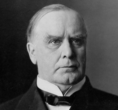 "#25 William McKinley: ""Patriotism, Protection, And Prosperity. A Full Dinner Pail."""