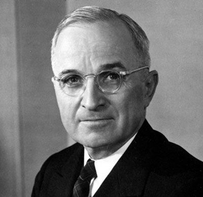 #33 Harry S. Truman: None.