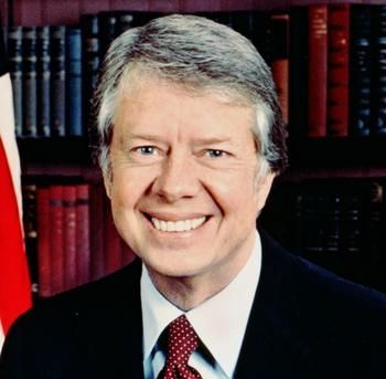 "#39 Jimmy Carter: ""Not just peanuts. A leader, for a change."""