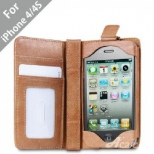 Cell Phone Leather Wallet