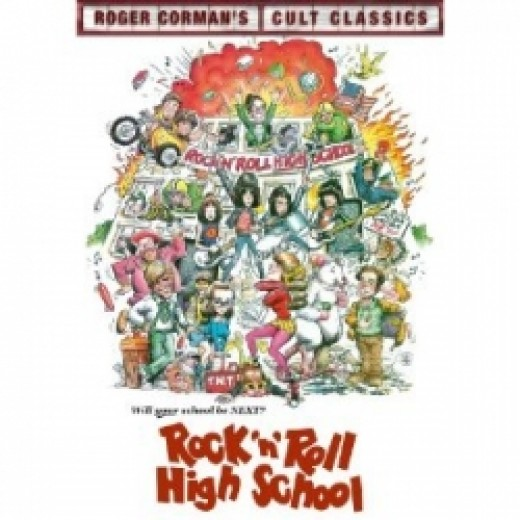 Rock 'N' Roll High School - Ramones - runk Rock Movie