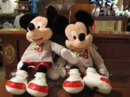 Mickey and Minnie Plush
